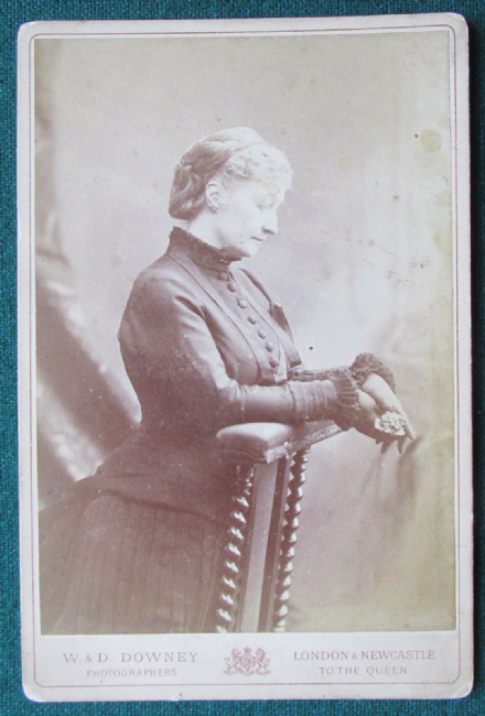 Eugénie de Montijo Empress of France Antique W&D Downey Cabinet Photograph